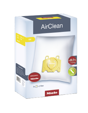 Miele 3D Efficiency KK Dust Bags 5 & 2 AirClean KK 1
