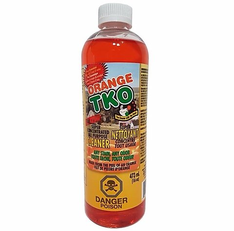 Orange TKO Super Concentrated All Purpose Cleaner- 16oz 1