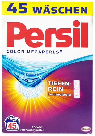 Persil Color MEGAPERLS Laundry Detergent- 45 WL / 3.33 kg 1