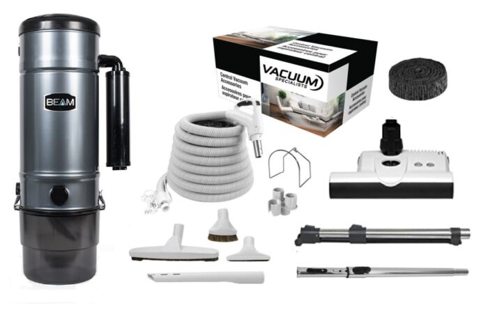 Beam SC325 Central Vacuum with Sebo ET-1 Kit Package 1