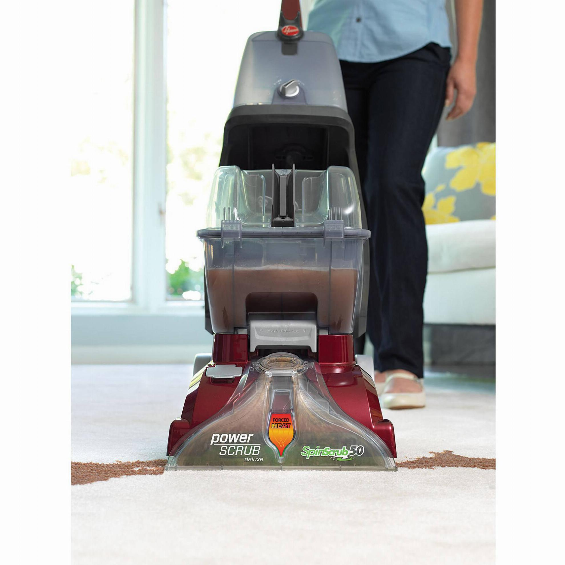 Hoover Power Scrub Deluxe Carpet Upright Deep Cleaner