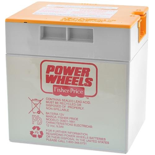 Power Wheels® 12-Volt Rechargeable Battery - Orange Top 1