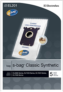 Electrolux EL201 Classic Synthetic S Bag (5-Bags) 1