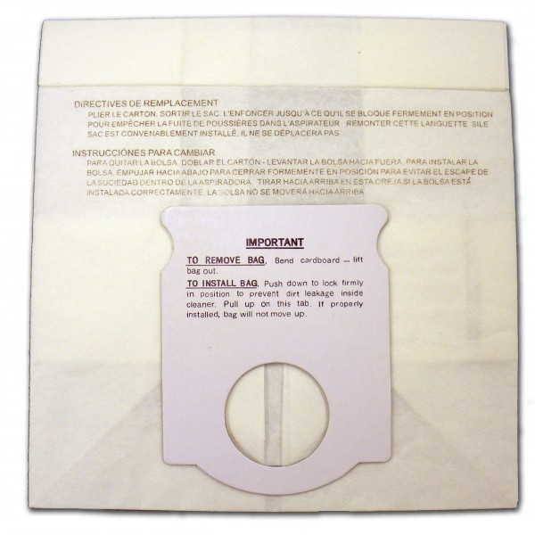 Kenmore 5041 / 5045 Canister Paper Bags (6-Bags) 1