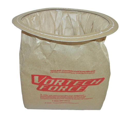 Vortech Force Canister Paper Bags (12-Bags) 1