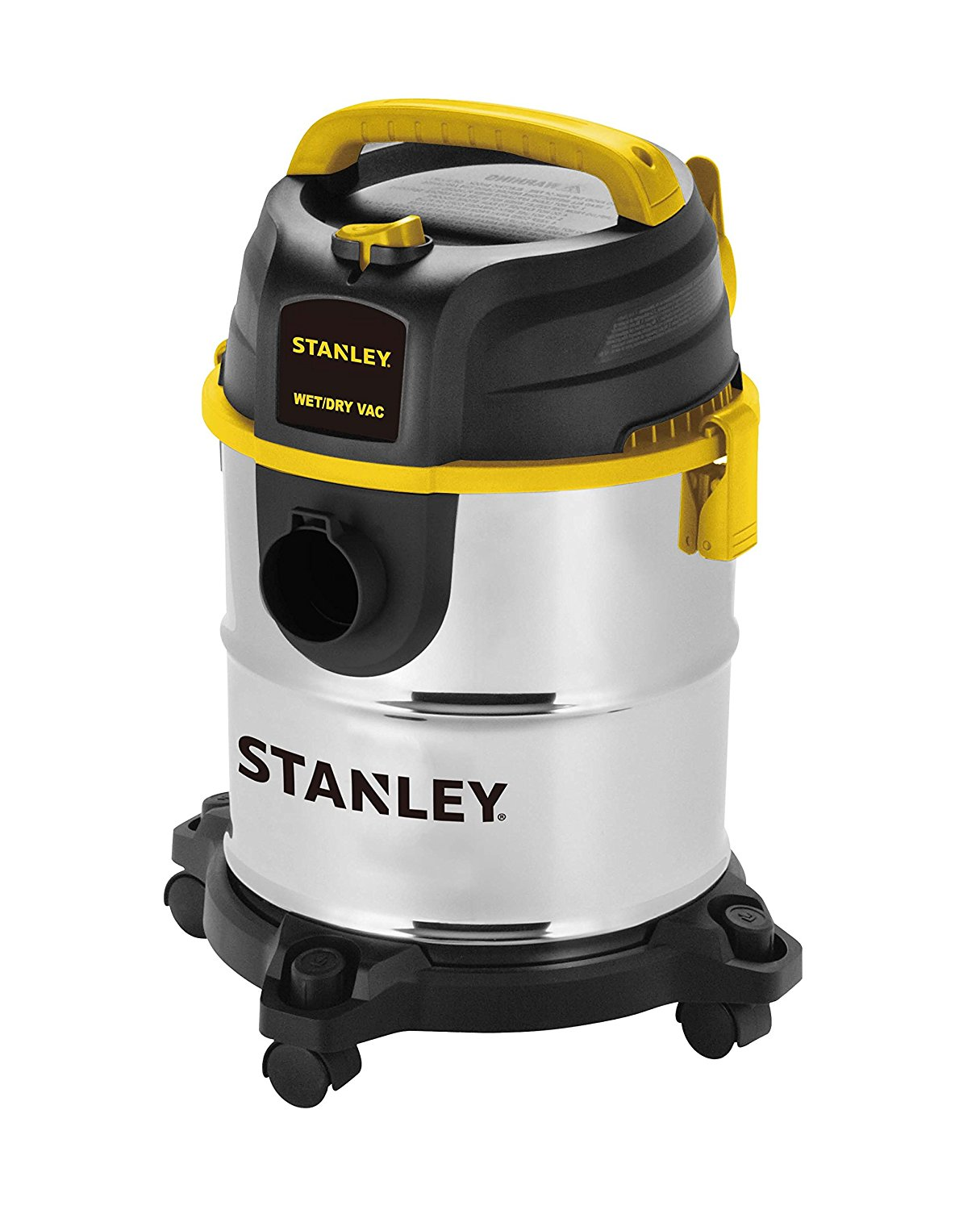 Stanley Wet/Dry Vacuum, 5 Gallon, 4.0 Peak HP 1