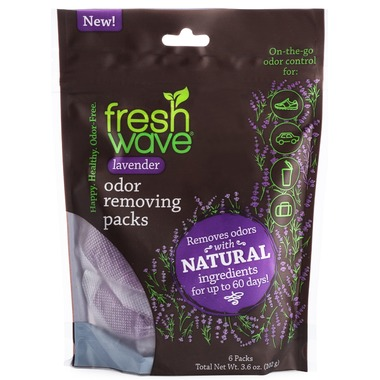 Fresh Wave® Odor Removing Lavender Pearl Packs- 6 Packs 1