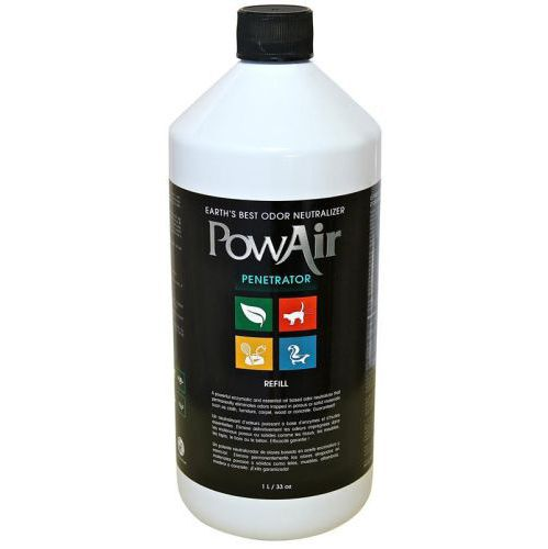 PowAir® Odor Removing Penetrator Refill Spray- 1 L / 33oz 1