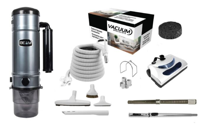 Beam 375D Central Vacuum with PN11 Kit Package 1