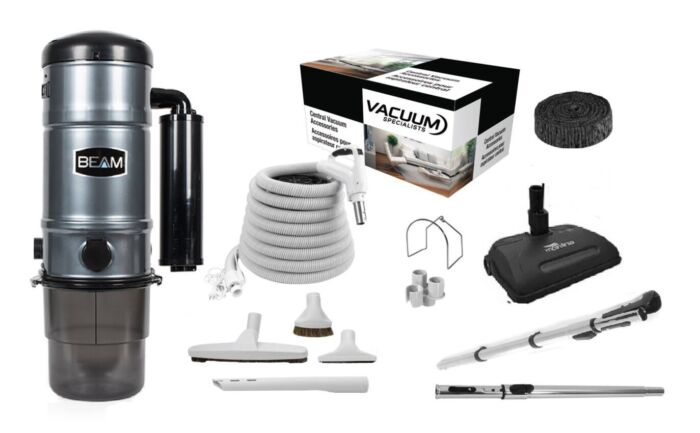 Beam SC325 Central Vacuum with Airstream Kit Package 1