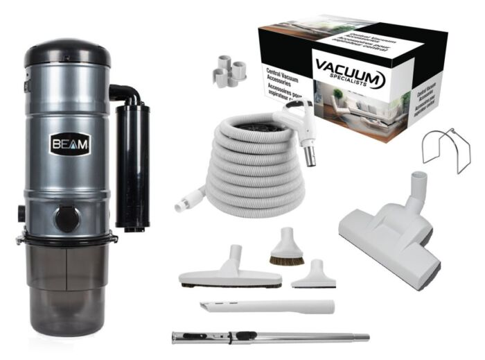 Beam SC325 Central Vacuum with Floor Kit Package 1