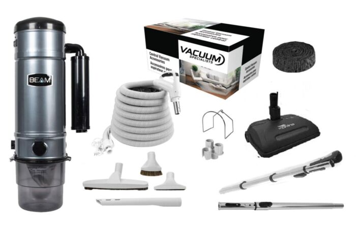 Beam 375D Central Vacuum with Airstream Kit Package 1