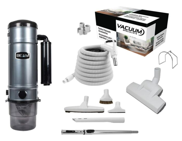 Beam 375D Central Vacuum with Floor Kit Package 1