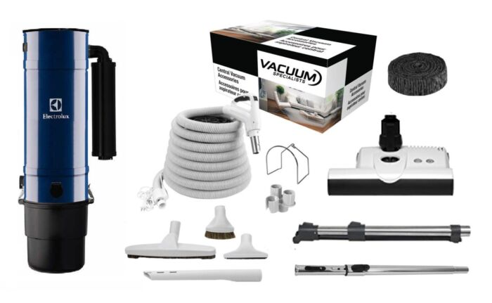 Electrolux SC380D with Sebo ET1 Kit Package 1