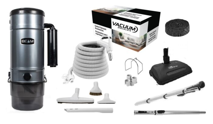 Beam 398B Central Vacuum with Airstream Kit Package 1