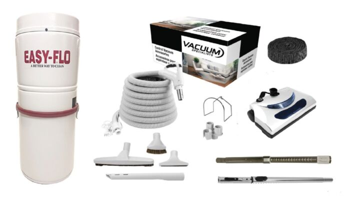 Easy Flo SQ9055 Central Vacuum With PN11 Package 1