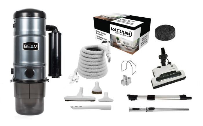Beam SC325 Central Vacuum with Galaxy Kit Package 1