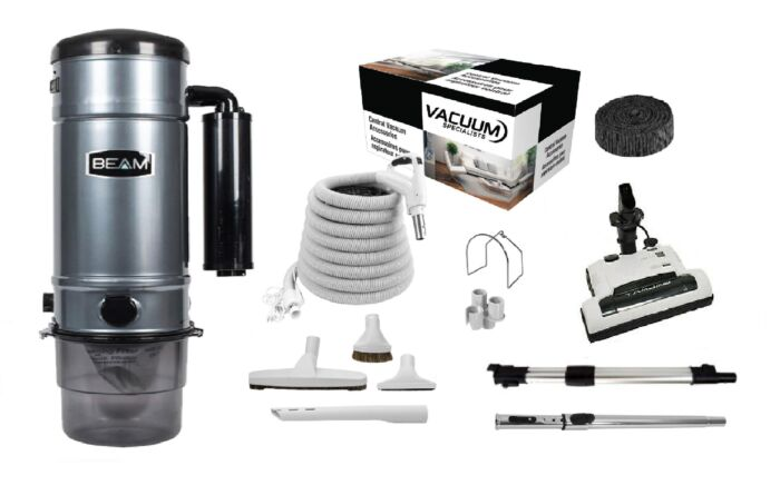 Beam 375D Central Vacuum with Galaxy Kit Package 1