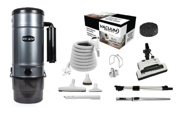 Beam 398B Central Vacuum with Galaxy Kit Package 1