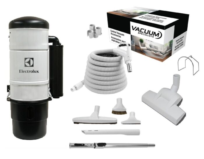 Electrolux QC600 Central Vacuum with Air Kit Package 1