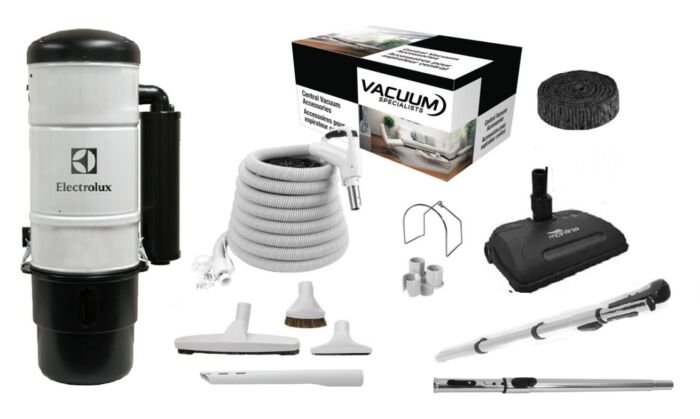 Electrolux QC600 Central Vacuum with Airstream Kit Package 1