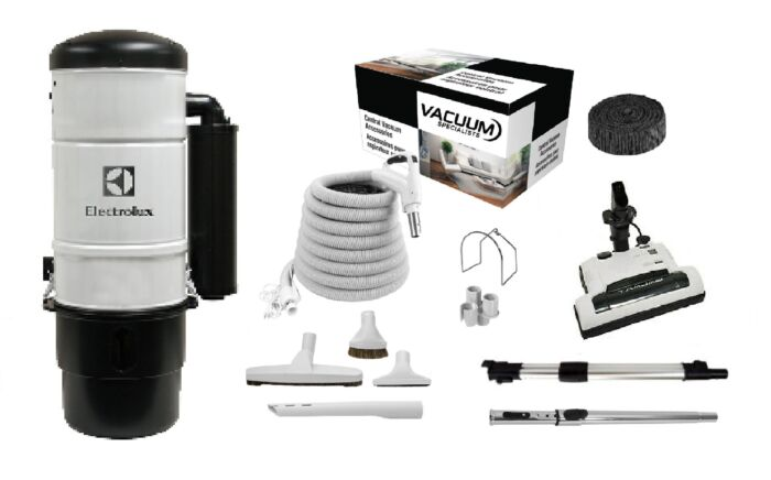 Electrolux QC600 Central Vacuum with Galaxy Kit Package 1