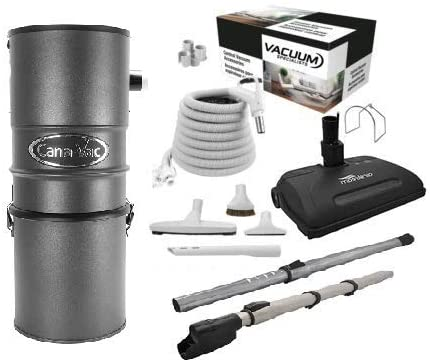 CanaVac Ethos Series CV687 with Airstream Vacuum Accessories kit 1