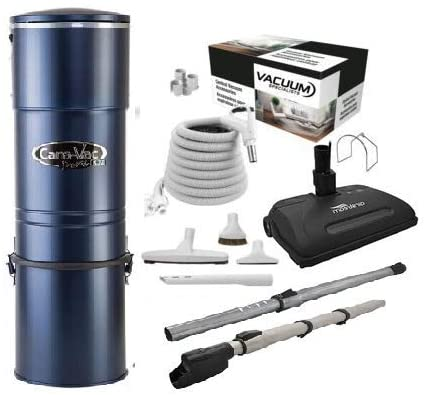 CanaVac Signature Series 990 with Airstream Power Head Vacuum Accessories kit 1