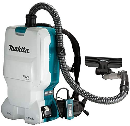 Makita DVC660PT2 18Vx2 LXT Backpack Vacuum Cleaner Kit (6.0 L) 1
