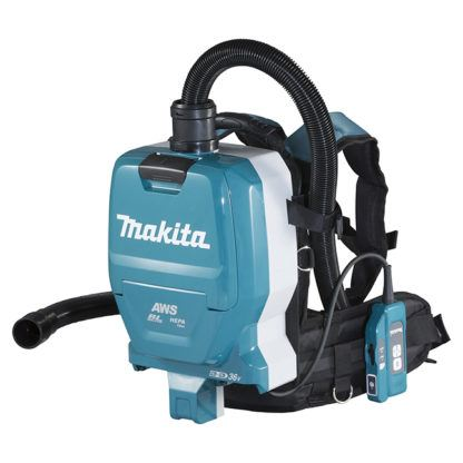 Makita DVC265ZXU 18Vx2 LXT Backpack Vacuum Cleaner with AWS (2.0 L) bluetooth (tool) 1