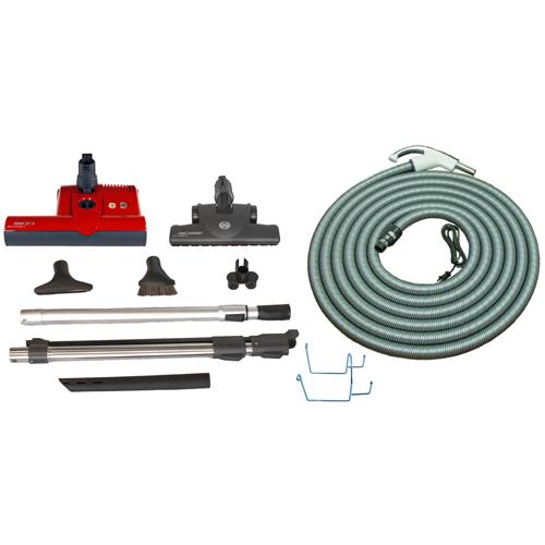 SEBO Premium ET-2 Central Vacuum Kit 1