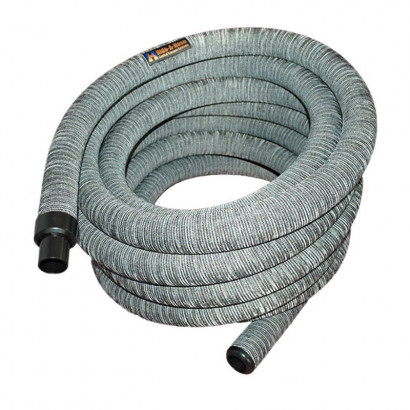 Hide-A-Hose Hose, 1 1/4″ X 60′ With Sock – Grey *Mini-Cuff 1