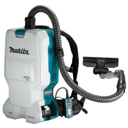 Makita DVC660ZX 18Vx2 LXT Backpack Vacuum Cleaner (Tool only)(6.0 L) 1